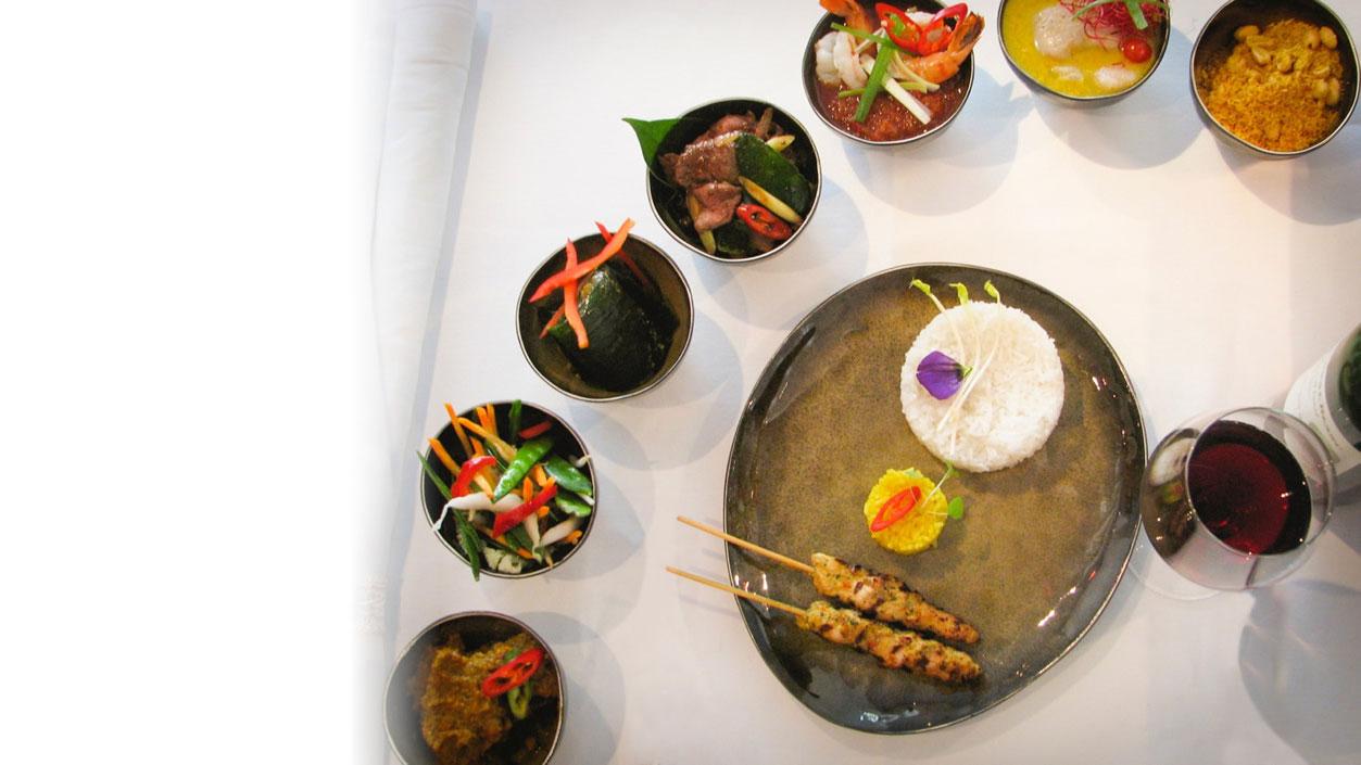 Indonesian restaurant in Amsterdam