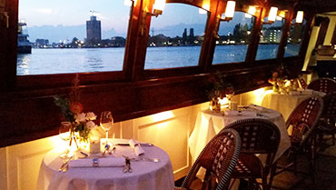 Dinner Cruise Amsterdam Blue Pepper