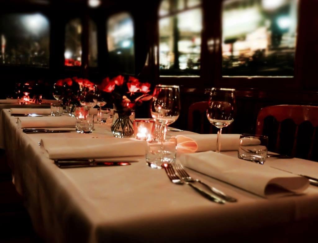 Dinner Cruise Amsterdam Table
