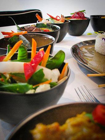 Indonesiisch rijsttafel Amsterdam