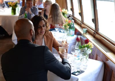 romantic dinner cruise Amsterdam