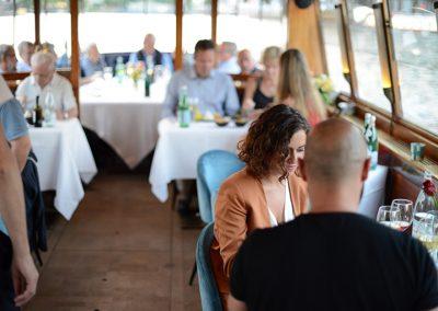 dinner boat Amsterdam